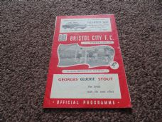 Bristol City v Sheffield United, 1959/60